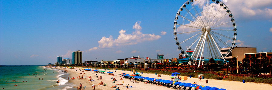 Over 60 Miles Of Warm Sandy Beaches Make Myrtle Beach South Carolina A Top Notch Vacation Destination In The United States Year After Visitors